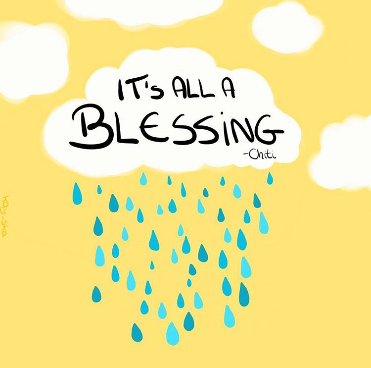 It's all a blessing quote